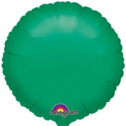 Шар 46 см Круг Зеленый