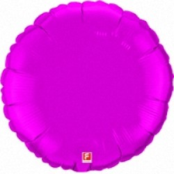 Шар 46 см Круг Сиреневый