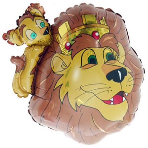 Шар 68 см Фигура Король лев