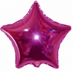 Шар 81 см Звезда Сиреневый