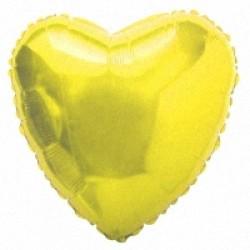 Шар 81 см Сердце Золото