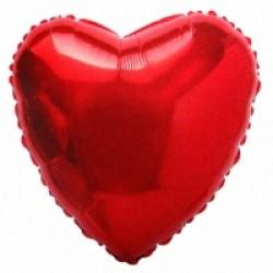 Шар 81 см Сердце Красный