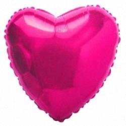 Шар 81 см Сердце Сиреневый