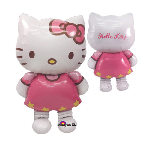 Шар 127 см Ходячая Фигура Hello Kitty