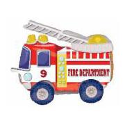 Шар 132 см Ходячая Фигура Пожарная машина