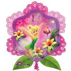 Шар 81 см Фигура Фея в цветах