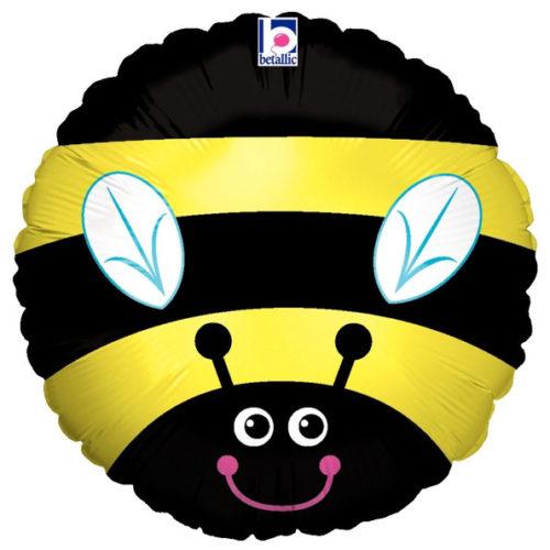 Шар 46 см Круг Пчела