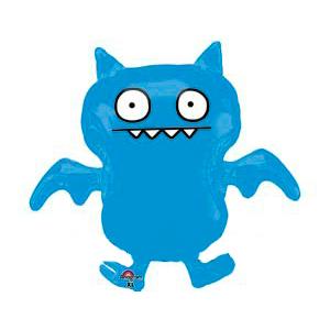 Шар 91 см Фигура ICE BAT синий