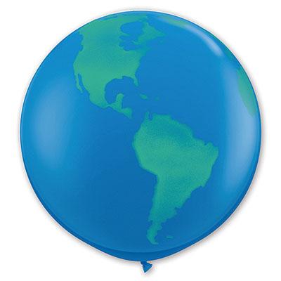Шар 70 см Земной шар темно-синий Пастель
