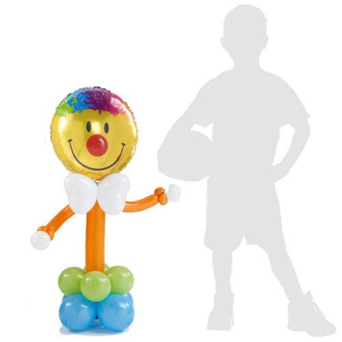 Клоун - колонна из воздушных шаров