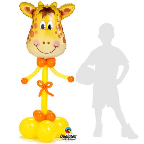 Жираф - колонна из воздушных шаров