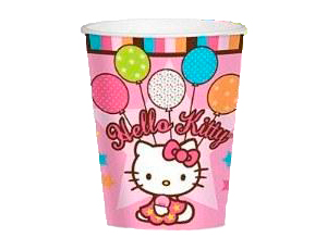 Стакан бумажный 250 мл Hello Kitty 8 шт