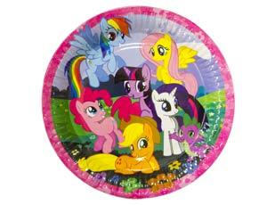 Тарелка бумажная 23 см My Little Pony 8 шт