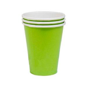 Стакан бумажный Салатный Kiwi Green 8 шт