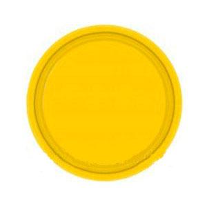 Тарелка бумажная 17 см Желтая Yellow Sunshine 8 шт