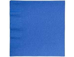 Салфетки бумажные 33 см Синий Marine Blue 16 шт