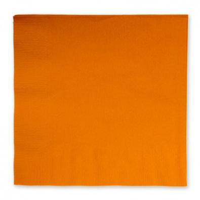Салфетки 33 см Оранжевая Orange Peel 16 штук