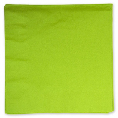 Салфетки 33 см Салатная Kiwi Green 16 штук