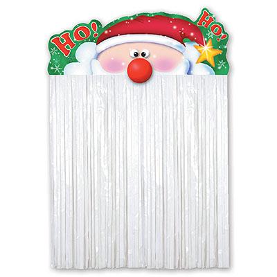 Украшение на дверь Санта Клаус 110 см