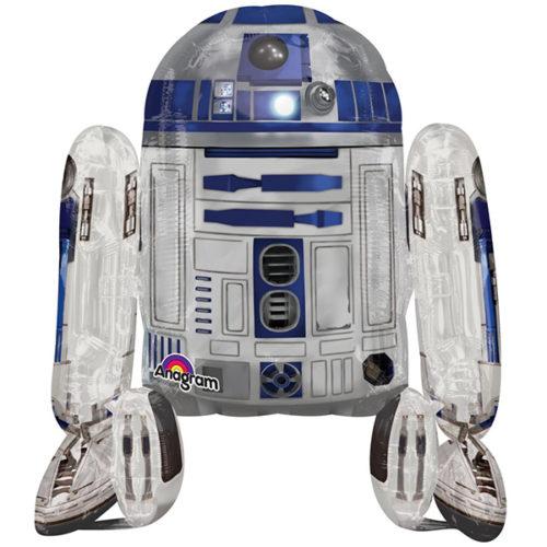 Шар 112 см Ходячая Фигура Звездные войны R2D2
