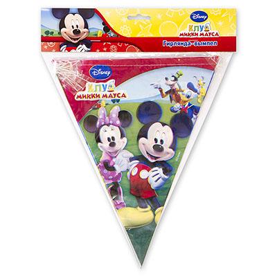 Гирлянда-вымпел Disney Микки и Минни 360 см