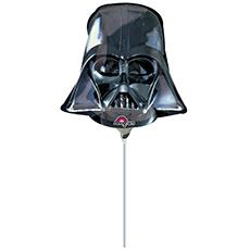 Шар 35 см Фигура Звездные Войны Шлем Вейдера