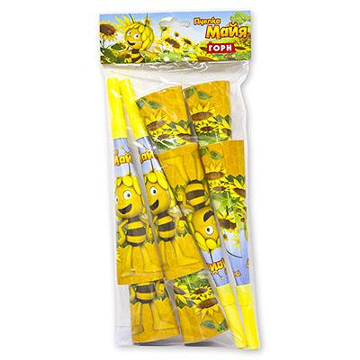 Горны Пчелка Майя 8 штук-2