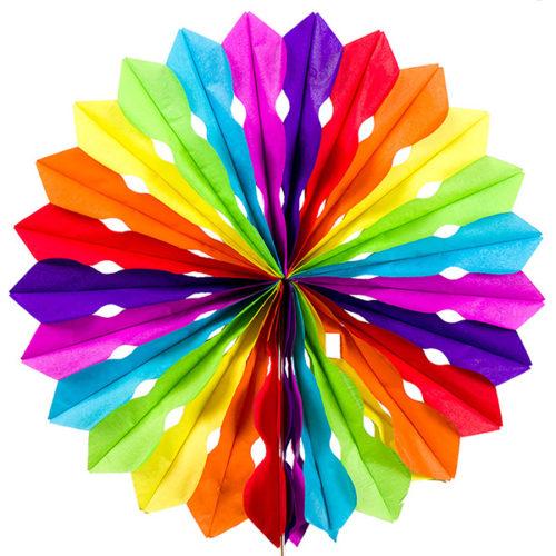 Диск 30 см радуга