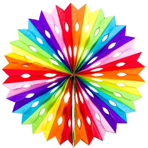 Диск 50 см радуга