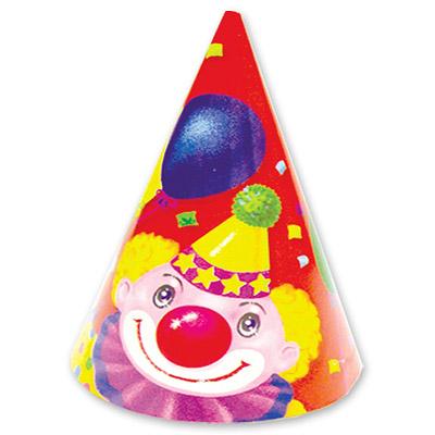 Колпак Клоун с шарами 6 штук