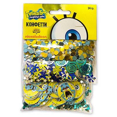 Конфетти Губка Боб 3 вида 34 гр