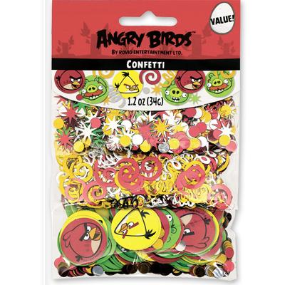 Конфетти Angry Birds 3 вида 34 гр