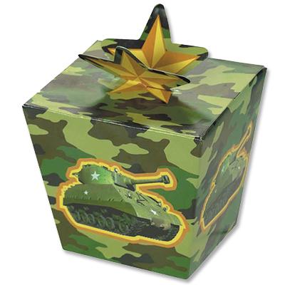 Коробочки подарочные Камуфляж 8 штук
