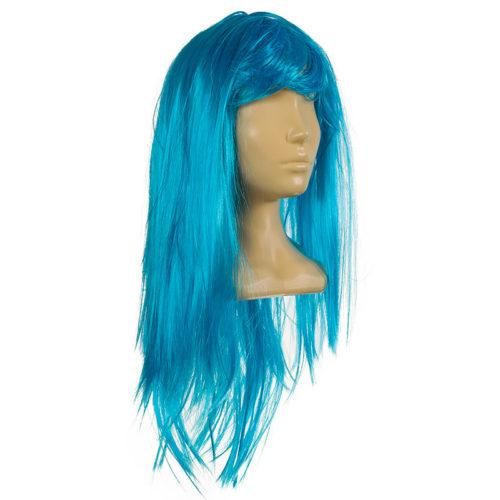 Парик Голубой женский