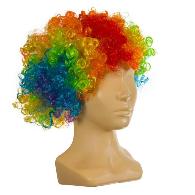 Парик Клоун цветной детский