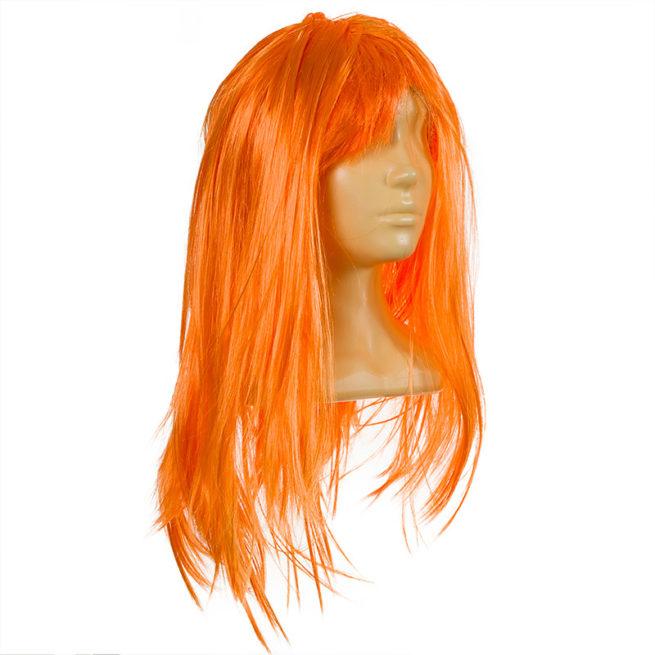 Парик Оранжевый женский