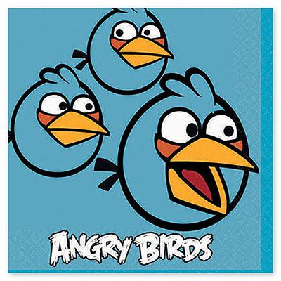 Салфетка 25 см Angry Birds 16 шт