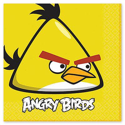 Салфетка 33 см Angry Birds 16 шт