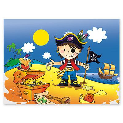 Скатерть Маленький пират 130х180 см