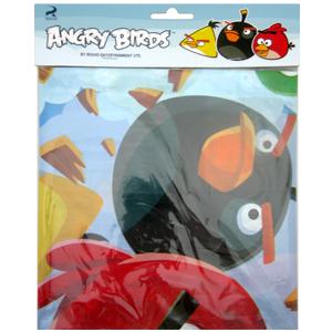 Скатерть полиэтиленовая Angry Birds 140смX180см