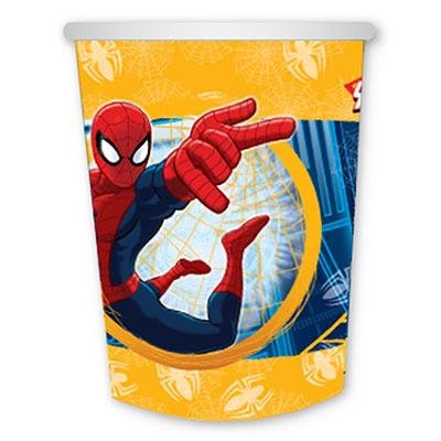 Стакан бумажный 250 мл Человек-Паук 6 шт