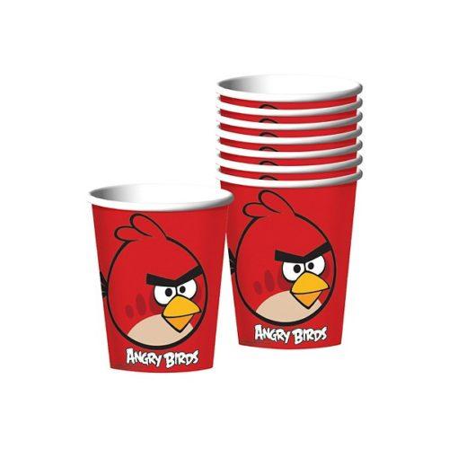Стакан бумажный 250 мл Angry Birds 8 шт