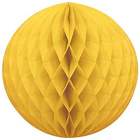 Шар Бумажный 30 см желтый