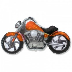 Шар 36 см Мини-фигура Байк Оранжевый