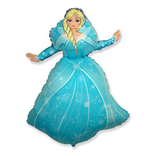 Шар 36 см Мини-фигура Холодное сердце Принцесса Эльза