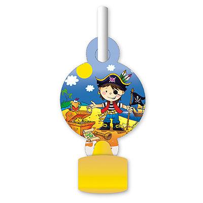Язык-гудок Маленький пират 6 штук