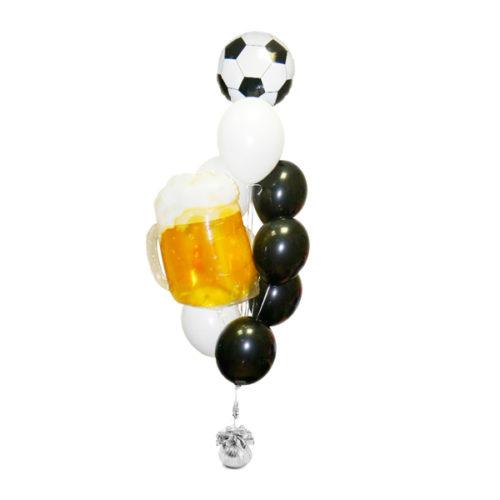 Фонтан для активного футбольного болельщика