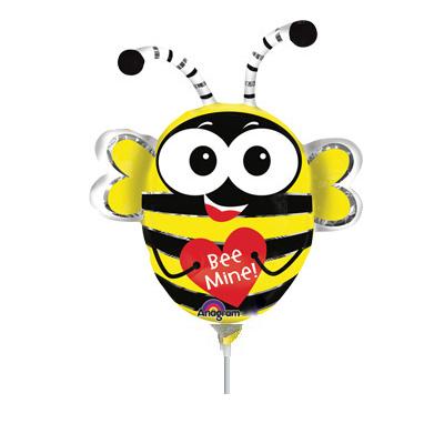 Шар 35 см Мини-фигура Пчела влюбленная