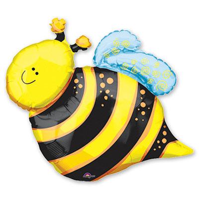 Шар 35 см Мини-фигура Пчелка