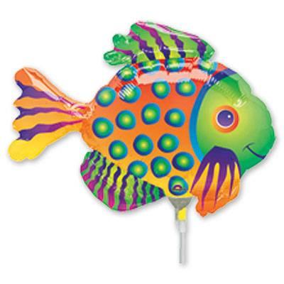 Шар 35 см Мини-фигура Рыба тропическая